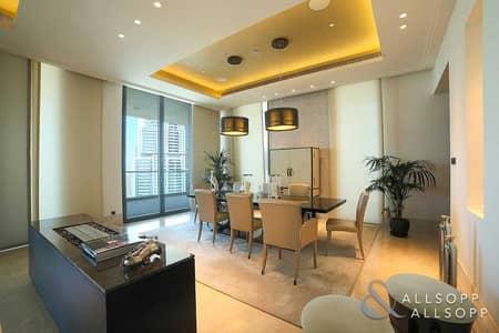 شقة 4 غرف نوم للبيع في وسط مدينة دبي، دبي - High Floor   Unfurnished   Available