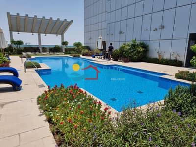 شقة 3 غرف نوم للايجار في الخالدية، أبوظبي - شقة في برج الشيخة سلامة شارع الخالدية الخالدية 3 غرف 125000 درهم - 5449014