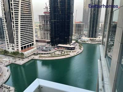 2 Bedroom Flat for Rent in Jumeirah Lake Towers (JLT), Dubai - Unfurnished | Lake View | Study Room I Best Offer