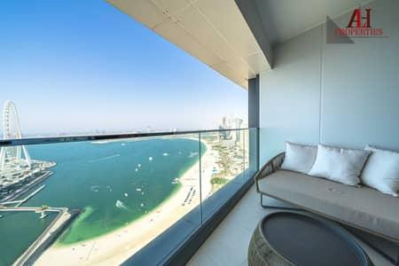 شقة فندقية 3 غرف نوم للبيع في جميرا بيتش ريزيدنس، دبي - شقة فندقية في برج جميرا جيت 2 العنوان ريزدنسز جميرا منتجع و سبا جميرا بيتش ريزيدنس 3 غرف 7200000 درهم - 5449466
