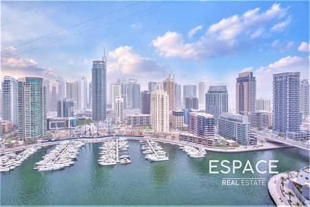 شقة 2 غرفة نوم للبيع في مدينة دبي للإنترنت، دبي - Full Marina View | 1405  sq ft | 2 Bed