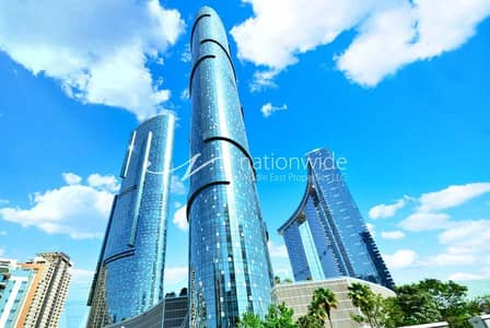 1 Bedroom Apartment for Rent in Al Reem Island, Abu Dhabi - Stunningly Presented Unit With Up To 3 Payments
