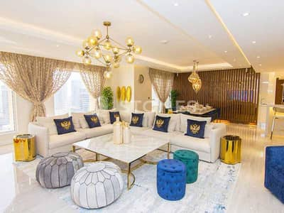 4 Bedroom Flat for Sale in Jumeirah Beach Residence (JBR), Dubai - Luxuriously Upgraded Furnished   Fitted Kitchen