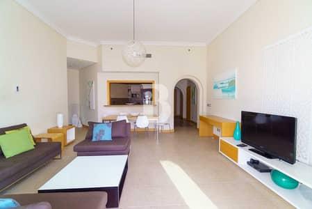 شقة 3 غرف نوم للايجار في نخلة جميرا، دبي - FULLY FURNISHED CHILLER FREE IN PALM