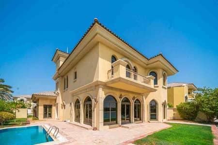 فیلا 5 غرف نوم للايجار في نخلة جميرا، دبي - Luxury villa | Unfurnished | Beach access
