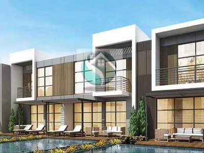 3 Bedroom Townhouse for Sale in DAMAC Hills 2 (Akoya Oxygen), Dubai - Single Row 3 Bed+ Maid In Zinnia Cluster Damac Hills 2
