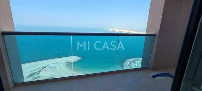 فلیٹ 3 غرف نوم للبيع في مارينا، أبوظبي - Great investment | Sea view | Quality