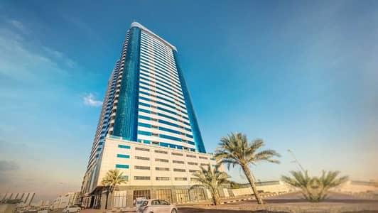 3 Bedroom Apartment for Rent in Sheikh Maktoum Bin Rashid Street, Ajman - LUXURY FULL OPEN VIEW 3 BHK IN CONQUEROR TOWER
