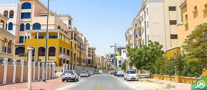 1 Bedroom Apartment for Rent in Jumeirah Village Circle (JVC), Dubai - SUMMER 2 -1BHK  FULLY FURNISHED-TERRACE -35000/-!!