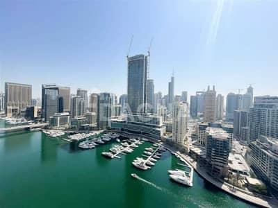 2 Bedroom Apartment for Rent in Dubai Marina, Dubai - Upgraded / Full Marina View / Chiller free