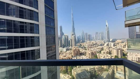 فلیٹ 1 غرفة نوم للايجار في وسط مدينة دبي، دبي - شقة في أبراج بلفيو وسط مدينة دبي 1 غرف 90000 درهم - 5451711