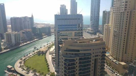 فلیٹ 1 غرفة نوم للايجار في دبي مارينا، دبي - شقة في سباركل تاورز دبي مارينا 1 غرف 95000 درهم - 5451709