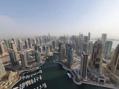 2 Bedroom Flat for Rent in Dubai Marina, Dubai - Marina View   Chiller Free   High Floor
