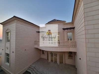 6 Bedroom Villa for Rent in Al Shamkha South, Abu Dhabi - VIP Stand Alone 6 BR + M   Huge Yard   Royal Finishing