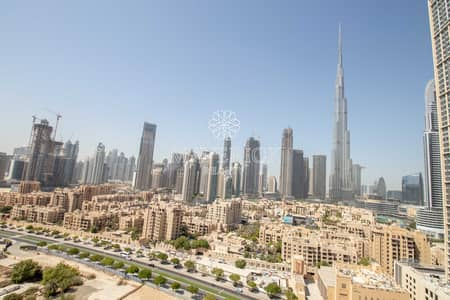 2 Bedroom Flat for Rent in Downtown Dubai, Dubai - Burj View   Upgraded 2BR   Chiller Free