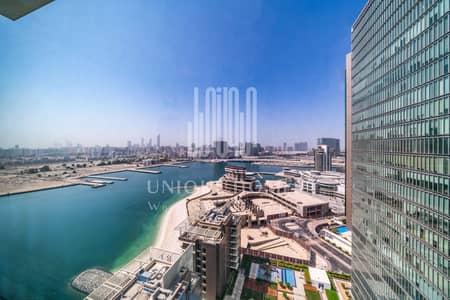 1 Bedroom Flat for Rent in Al Reem Island, Abu Dhabi - SEA View I High Floor I Renovated