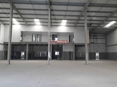 مستودع  للايجار في جبل علي، دبي - Lovely 9795 Sqft Warehouse with 80 KW Power and Office in Jebel Ali
