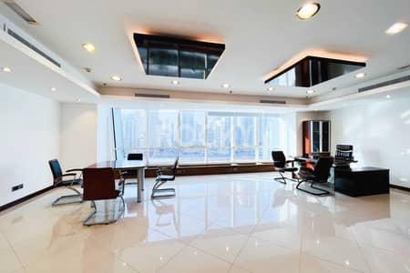 مکتب  للايجار في أبراج بحيرات الجميرا، دبي - Furnished Office   Open Layout   DMCC