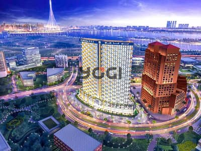 فلیٹ 1 غرفة نوم للبيع في الجداف، دبي - شقة في Binghatti Avenue بن غاطي افينيو 1 غرف 655766 درهم - 5452697