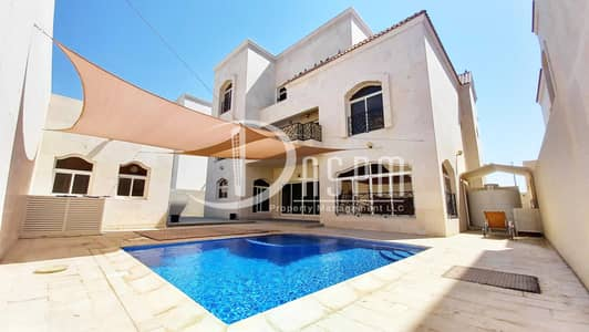 6 Bedroom Villa for Rent in Khalifa City A, Abu Dhabi - HURRY UP 6 BEDS + DRIVER + POOL 260!!!