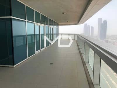 4 Bedroom Penthouse for Rent in Al Khalidiyah, Abu Dhabi - Penthouse | Full Sea View | No Chiller Fees | 4 Cheques