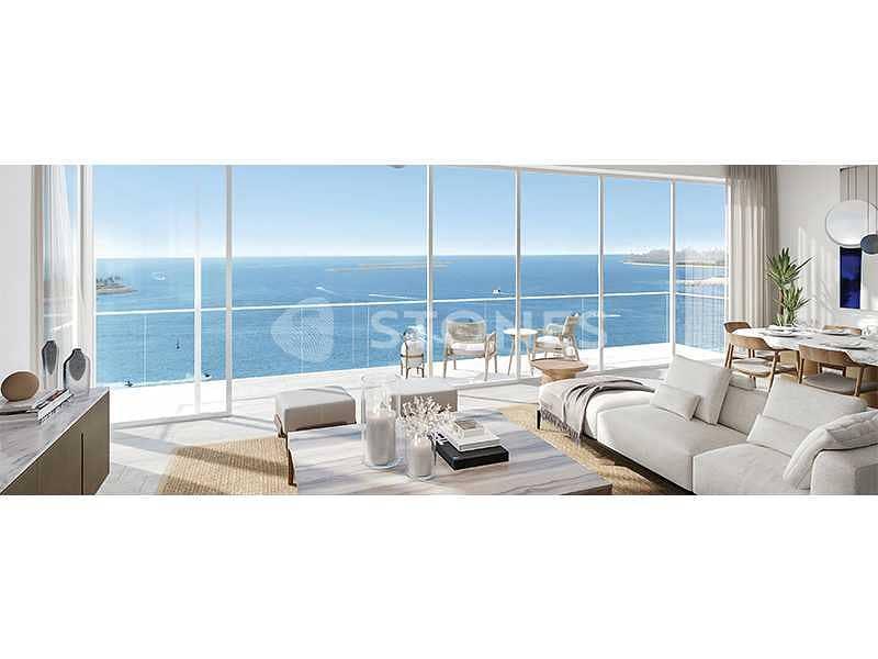 RESALE   Full Sea and Dubai Eye View   High-End