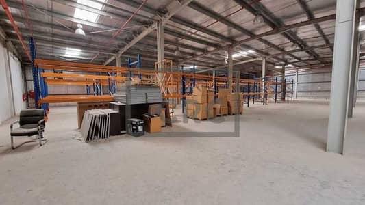 مستودع  للايجار في جبل علي، دبي - Standalone Warehouses   Racking System and Office