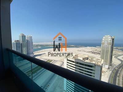 شقة 3 غرف نوم للبيع في الخان، الشارقة - شقة في برج النخلة 1 الخان 3 غرف 1100000 درهم - 5453092
