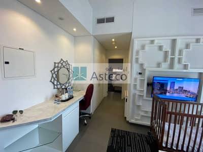شقة فندقية 1 غرفة نوم للبيع في دبي مارينا، دبي - High Floor | Hotel Apartment | Stunning Marina View