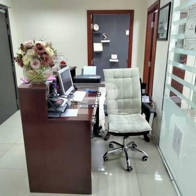 مکتب  للايجار في واحة دبي للسيليكون، دبي - Fully Furnished Office|Option Available