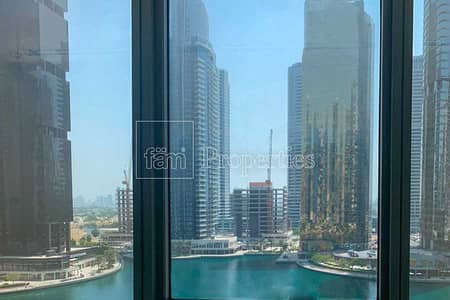 1 Bedroom Apartment for Rent in Jumeirah Lake Towers (JLT), Dubai - Next to Metro   Best Price   Full Canal & PoolView