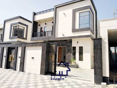 4 Bedroom Villa for Sale in Al Yasmeen, Ajman - Villa for sale, wonderful, distinctive and attractive finishing, freehold for all nationalities, with the possibility of bank financing