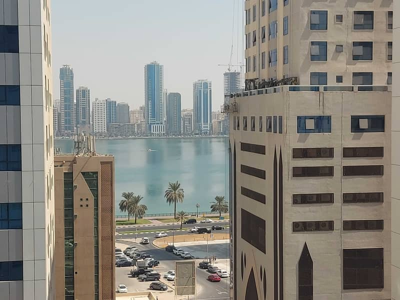 45 days free! No deposite! Spacious 2 bhk balcony open view! Al khan area