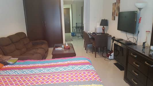 Ontario Tower | Near Metro | Large Studio Apartment | Fully Furnished | Rent: 35-K only.