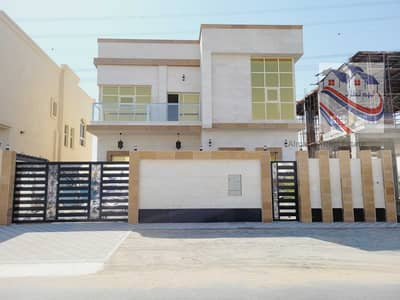 5 Bedroom Villa for Sale in Al Yasmeen, Ajman - Villa for sale in Ajman, Jasmine area, freehold for all nationalities, super deluxe finishes, and a very reasonable price