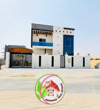 5 Bedroom Villa for Sale in Al Zahya, Ajman - Distinguished modern villa for sale directly from the owner, Al Zahia, Ajman.