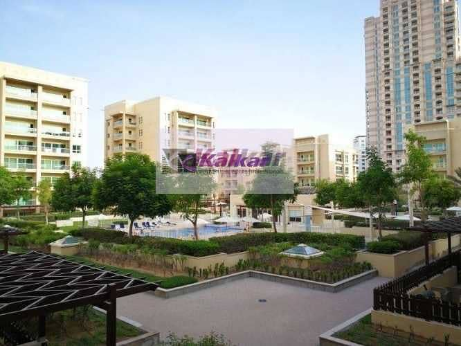 2 Greens  -  Al Samar, Large 1 Bedroom , Chiller Free,  Pool View Clean & Neat - well maintained