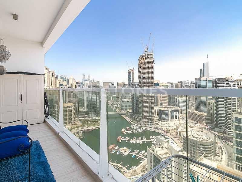2 Beautiful Fully Furnished | Dubai Marina View