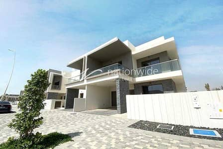 3 Bedroom Villa for Rent in Yas Island, Abu Dhabi - Enjoy Living In This Single Row Corner Villa