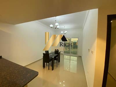 1 Bedroom Flat for Rent in Dubai Sports City, Dubai - Best Deal/Semi Furnished and clean With Balcony/ Well Maintained and Ready to Move