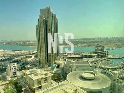 1 Bedroom Flat for Sale in Al Reem Island, Abu Dhabi - Very Good Investment with 7% Yearly ROI |High floor & full sea view| Fully Furnished  .