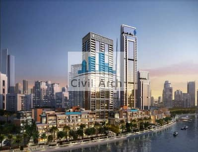2 Bedroom Flat for Sale in Business Bay, Dubai - ZERO DLD+1951 SFT 3BR+FULL CANAL VIEWS+DOWNTOWN +30/70 PLAN-UNIQUE PROJECT