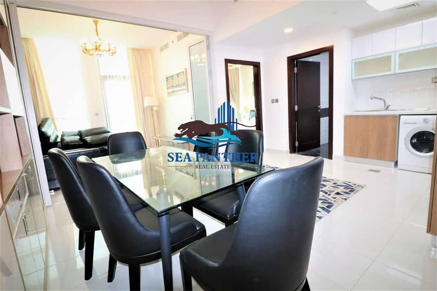 FULLY FURNISHED STUDIO  POOL VIEW   CHILLER FREE