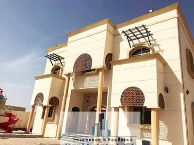 فیلا 5 غرف نوم للايجار في المويهات، عجمان - فيلا لايجاربالمكيفات، بموقع سكني ممتاز ومساحة كبيرة وقريبة جدا من جميع الخدمات و بسعر فرصة.