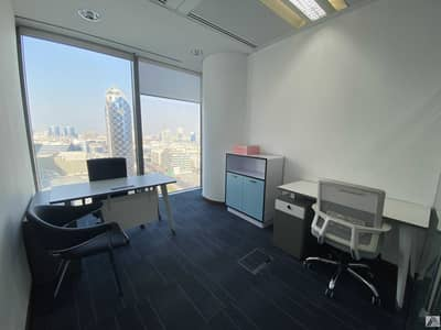 Office for Rent in Bur Dubai, Dubai - DEWA & CHILLER FREE || SMART OFFICES  CONNECTED WITH MALL & METRO
