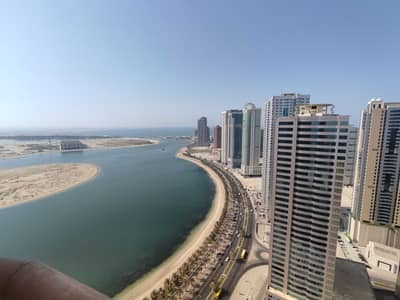 2 Bedroom Flat for Rent in Al Khan, Sharjah - Brand New | 2bhk + AC | 1 Month +Gym/Pool