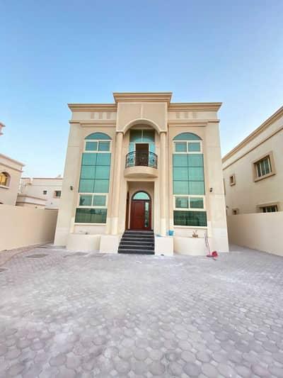 Villa for rent in Ajman Al Rawda  Fully furnished two floors  5 rooms, a ha