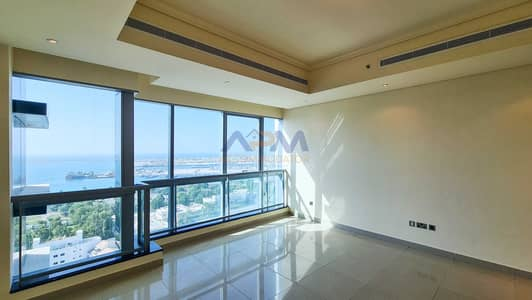 2 Bedroom Flat for Rent in Al Mina, Abu Dhabi - 0% COMMISSION ! 2BHK Apartment With Maids and Laundry