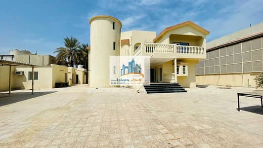 6 Bedroom Villa for Rent in Musherief, Ajman - BIGGEST VILLA 6 BED / HALL / 2 MAJLIS / OUT SIDE MULHAQ / MAID ROOM / STORE