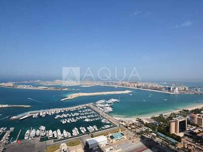 1 Bedroom Flat for Rent in Dubai Marina, Dubai - High Floor   Full Sea View   Large Layout